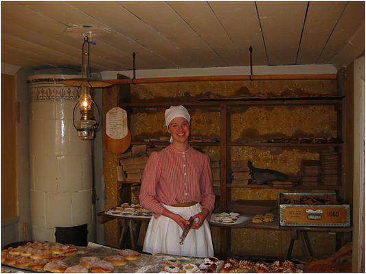 Bäckerei anno 1900