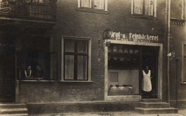 Bäckerei in Neubrandenburg 1928