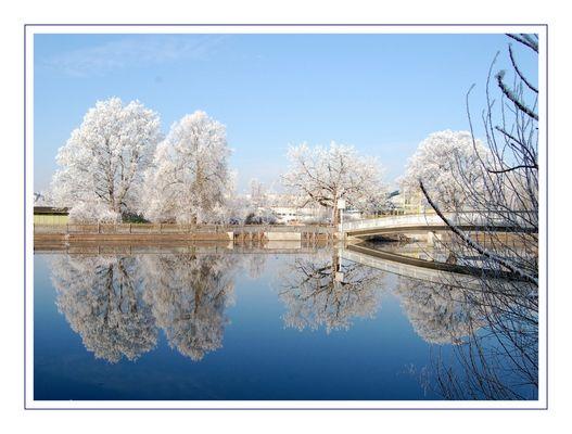 Bäder im Frost