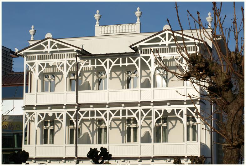Bäderarchitektur(1) in Binz