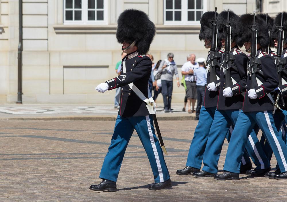 Bärenfellmützen der Dänisch Königlichen Leibgarde