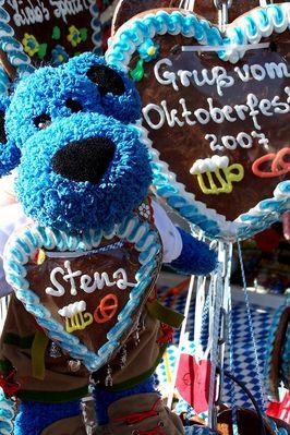 Bärengrüße vom Oktoberfest