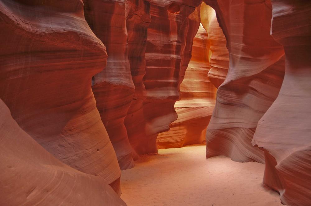 Bärtotem im Upper Antelope Canyon Arizona