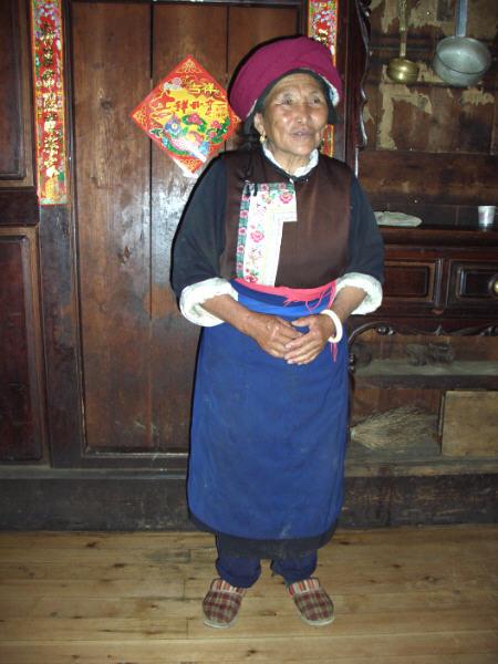 Bäuerin Tibet 1
