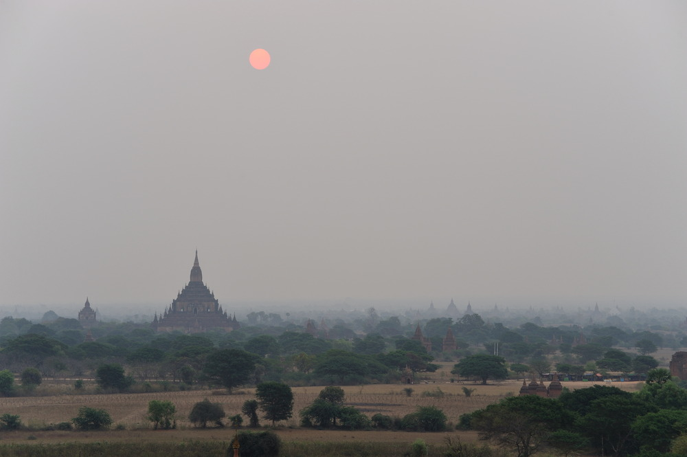 Bagan sunset 1