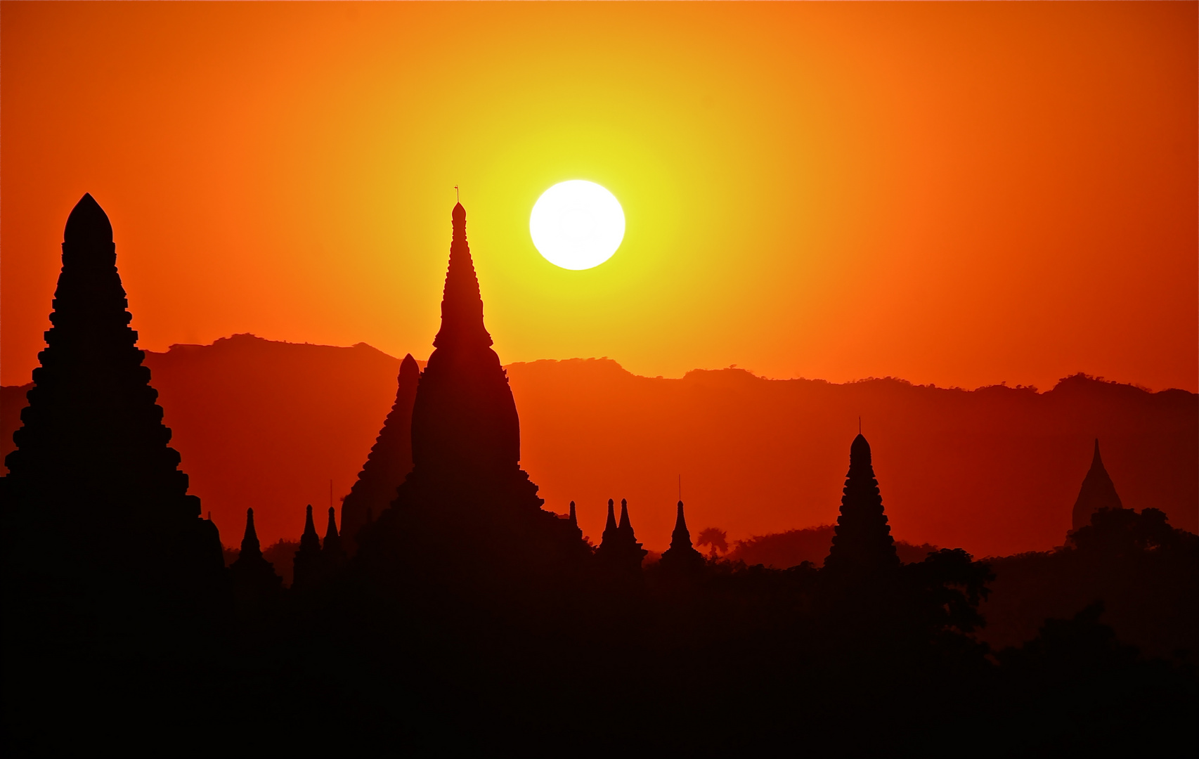 bagan sunset III