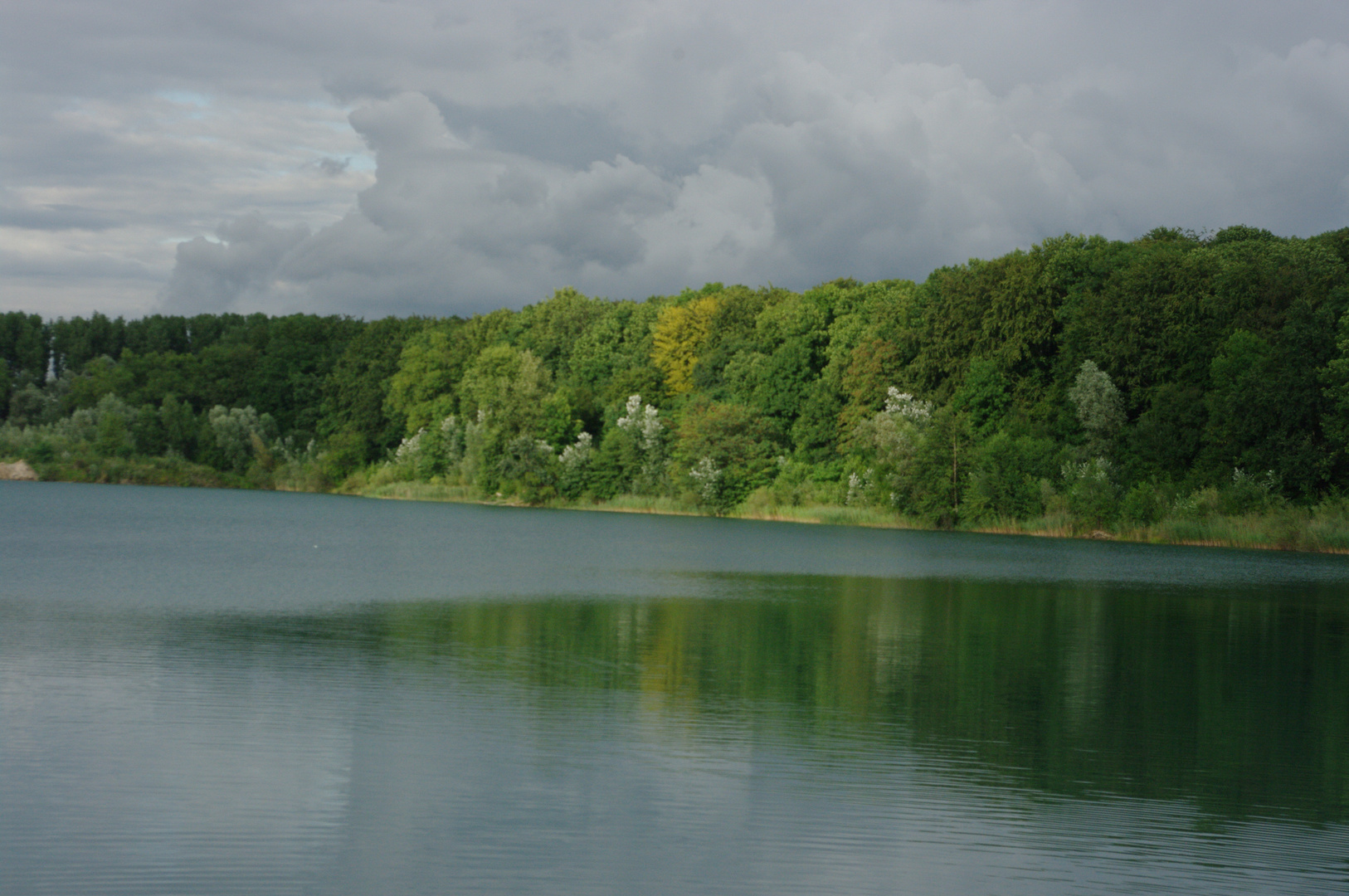 Baggersee am Abend