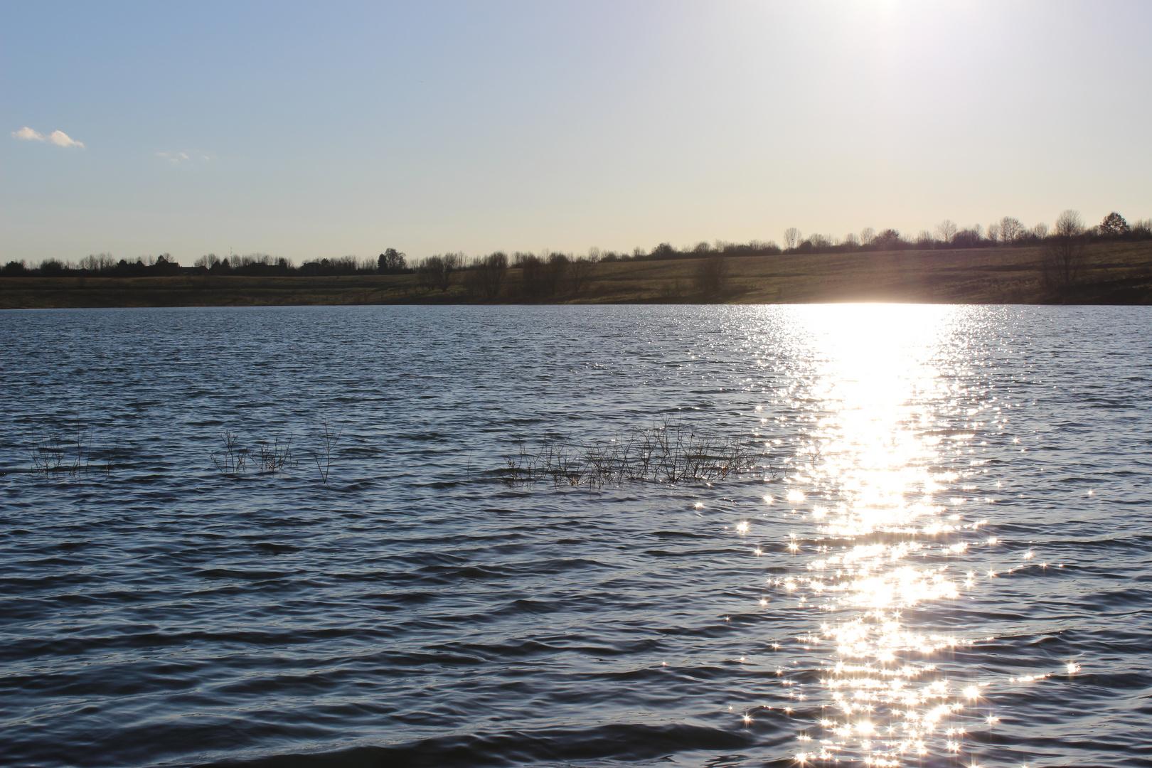 Baggersee im Januar 2014