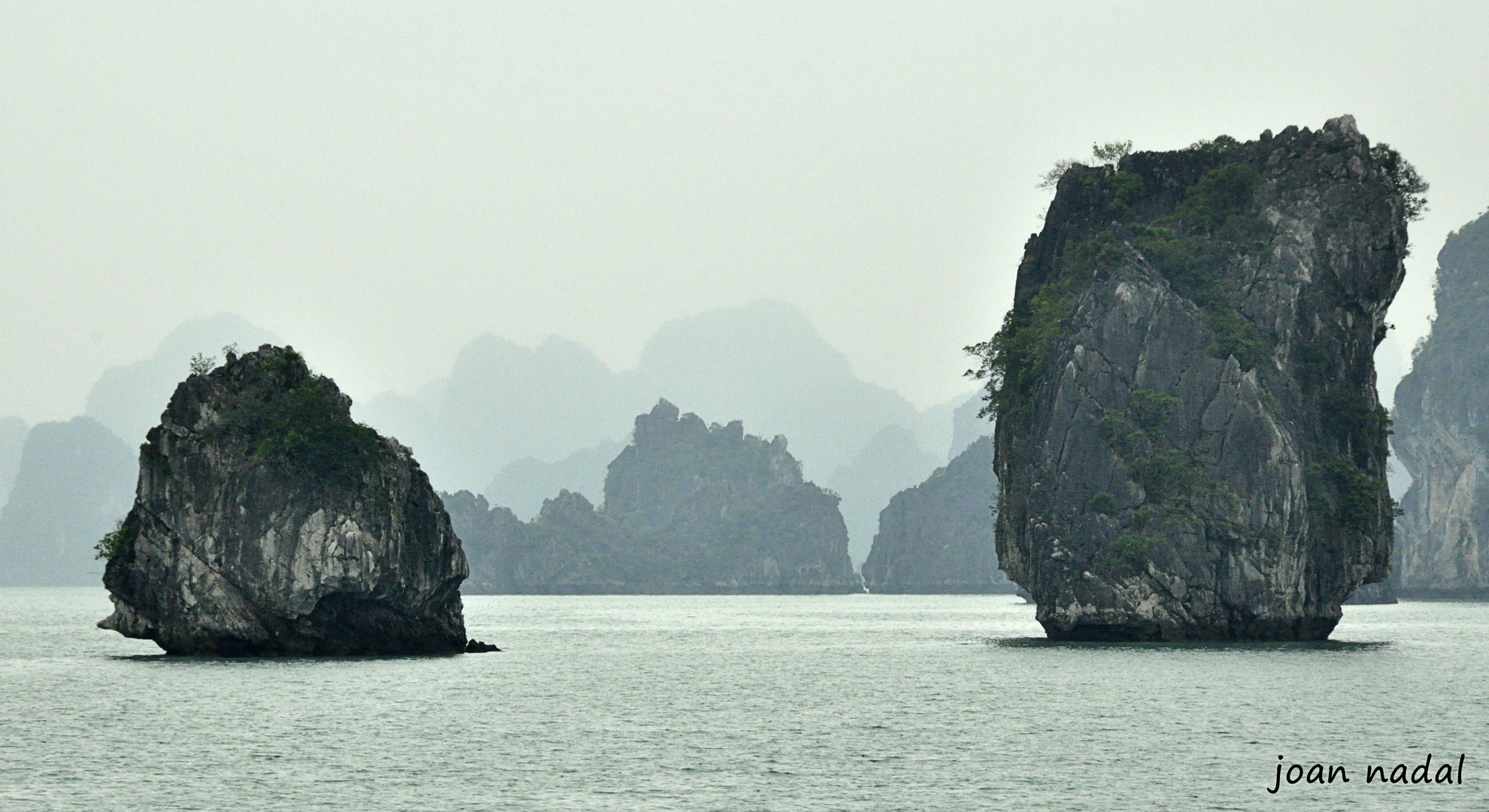 Bahia de Halong. Vietnam