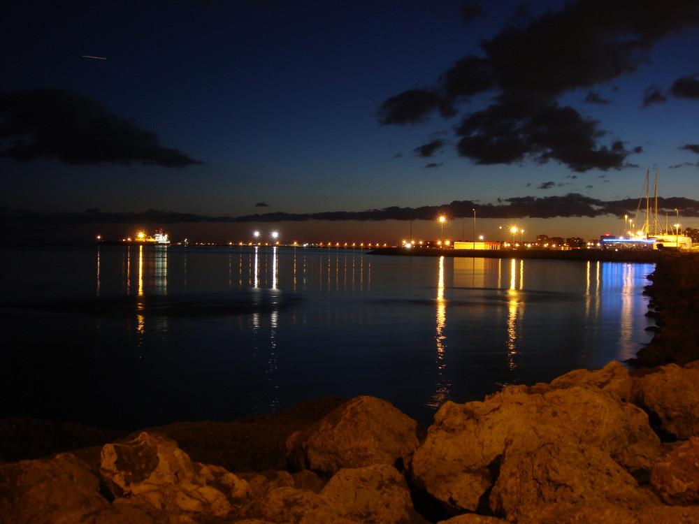 Bahia de Palma en la noche