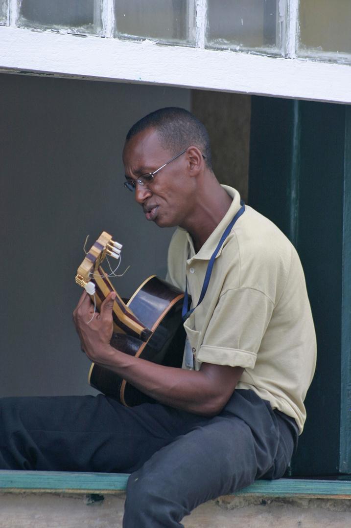 Bahiano con guitarra