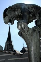 Bahkauv frisst Aachener Dom