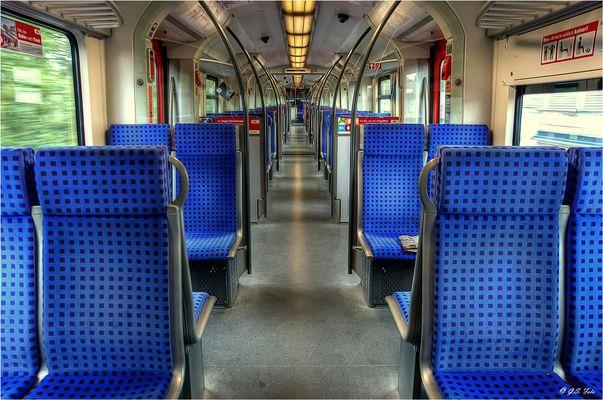 Bahn fahren.....
