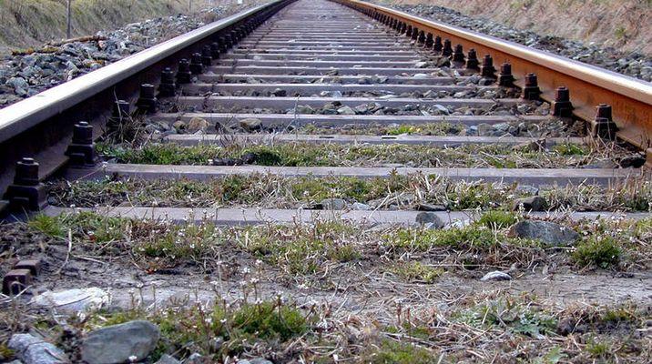 Bahn-Gleis