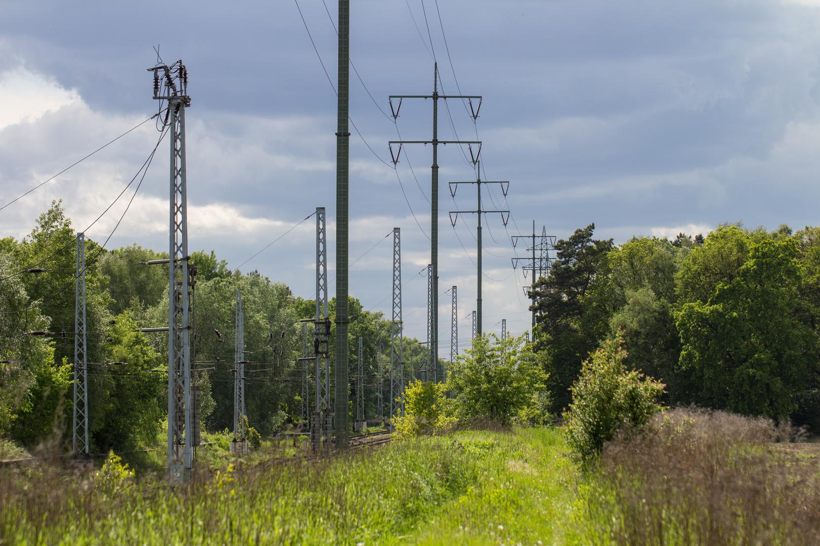 Bahn und Natur