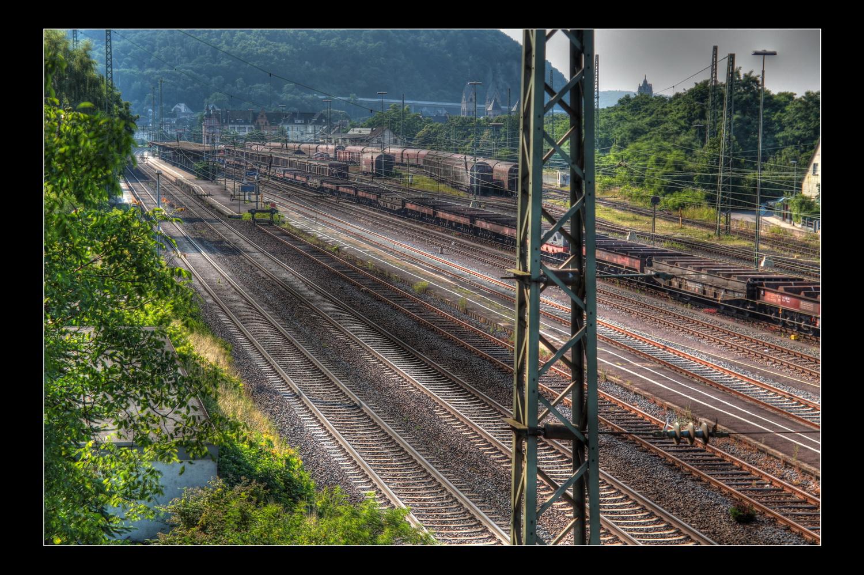 Bahnanlagen in Andernach