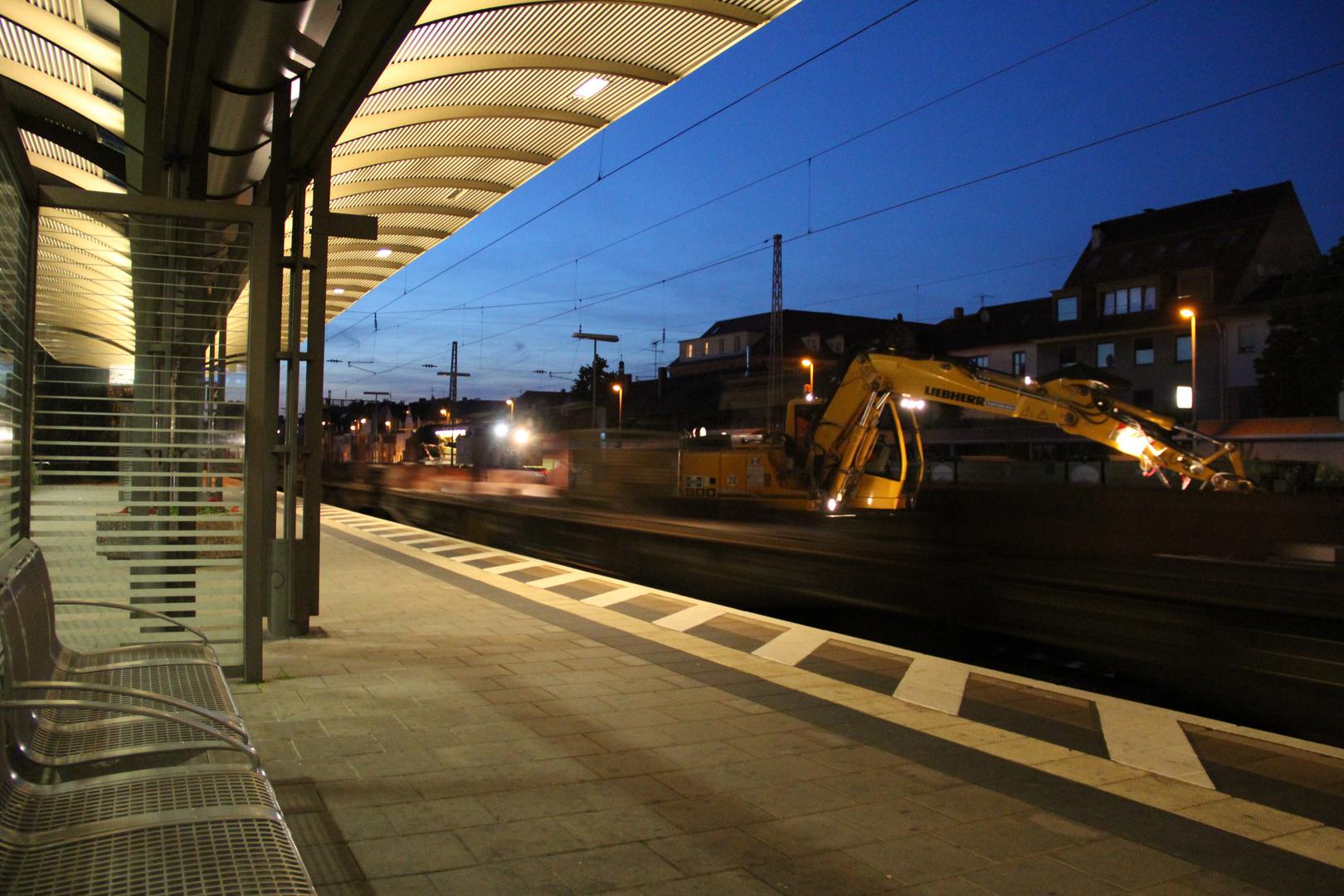 Bahnbaustelle Erlangen