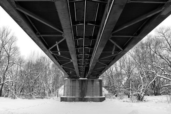 Bahnbrücke über die Laaber 2
