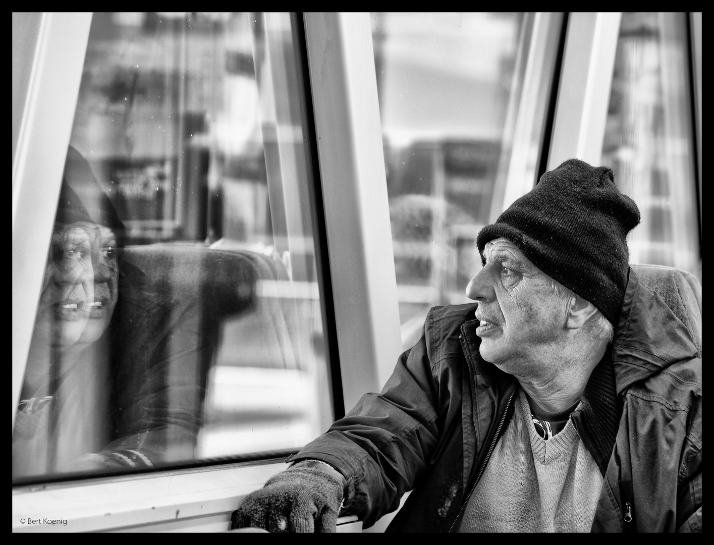 Bahnfahrt in Gedanken