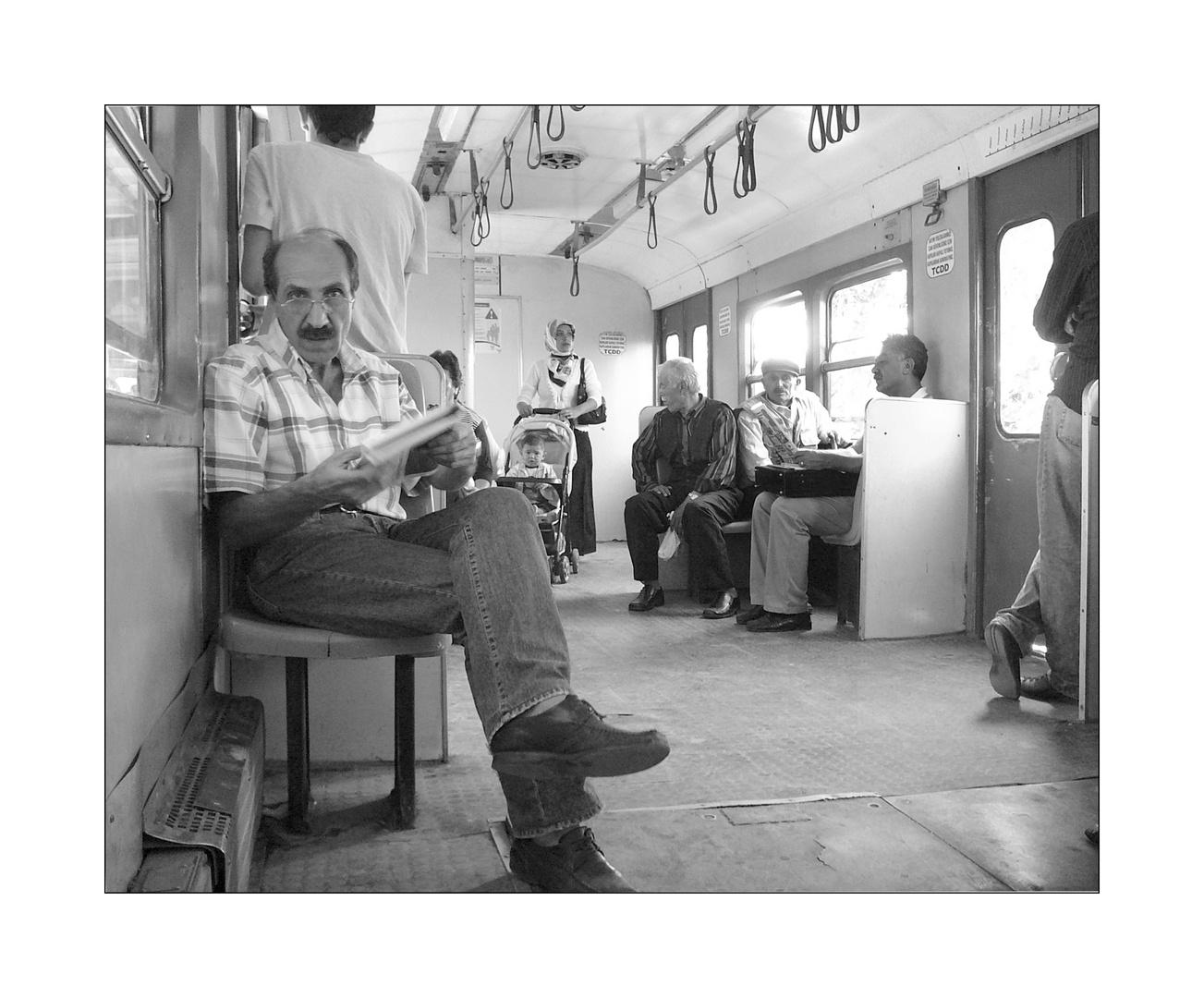 Bahnfahrt in Istanbul