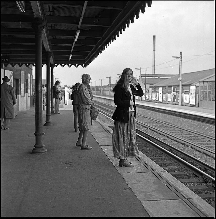 Bahnfahrt in London 1974 (2)