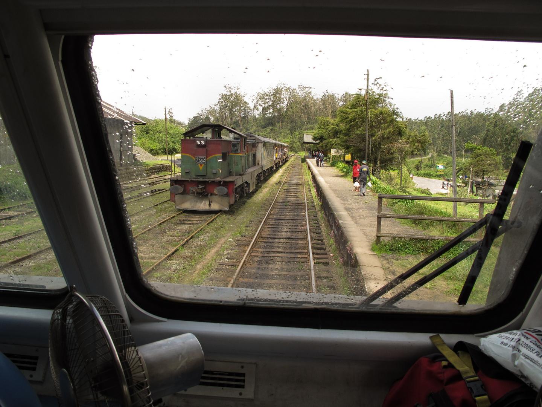 Bahnfahrt in Sri Lanka, 2013