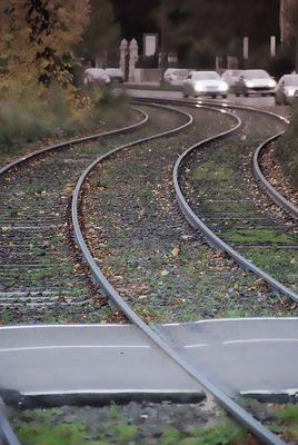 Bahngleis Köln