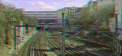 Bahngleise Schönhauser Allee (3D)
