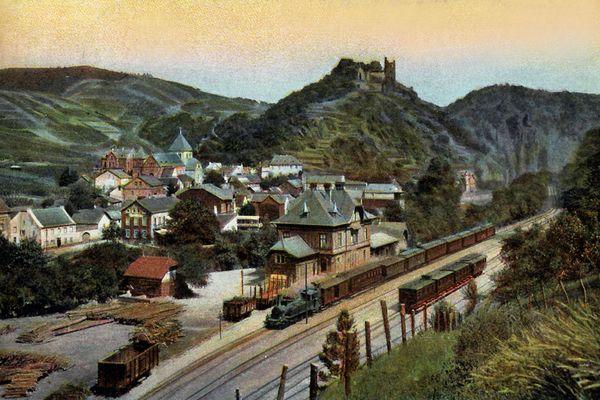 """""""Bahnhof Altenahr vor rund 100 Jahren"""""""