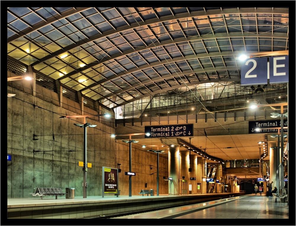 Bahnhof am Flughafen Köln-Bonn