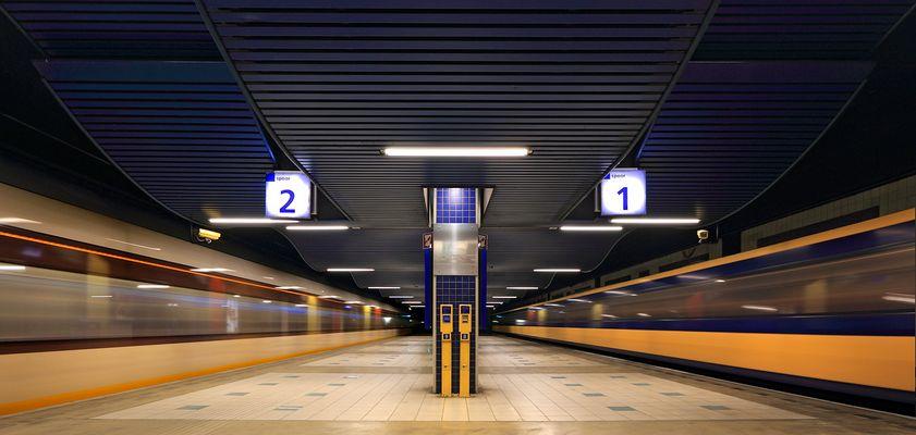 Bahnhof Blaak Rotterdam