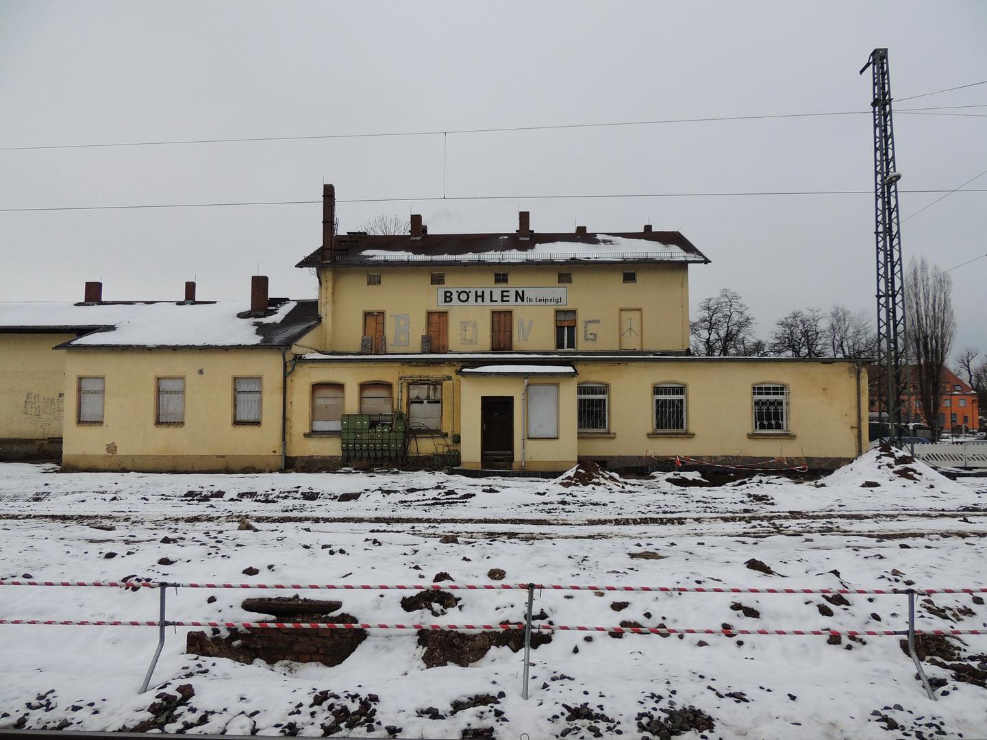 Bahnhof Böhlen #1