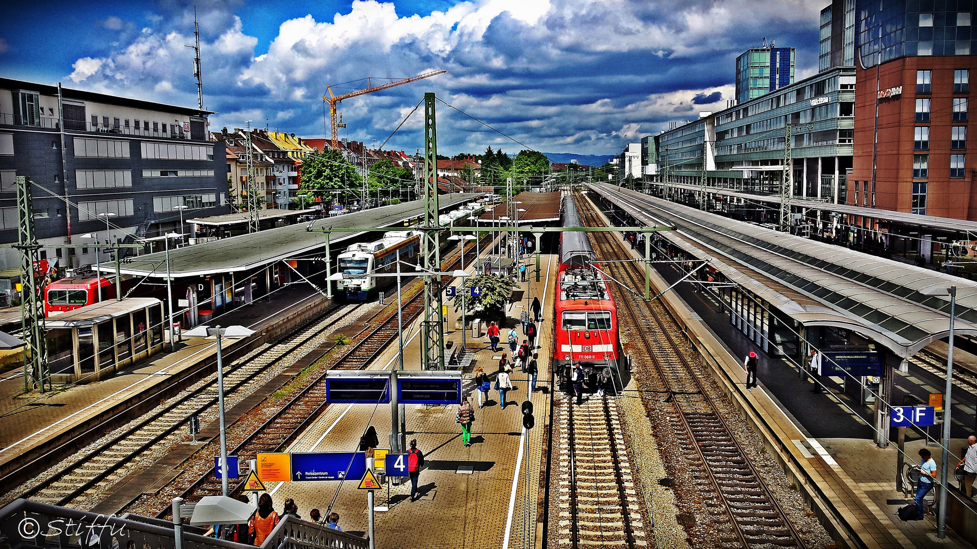 Bahnhof Freiburg im Breisgau