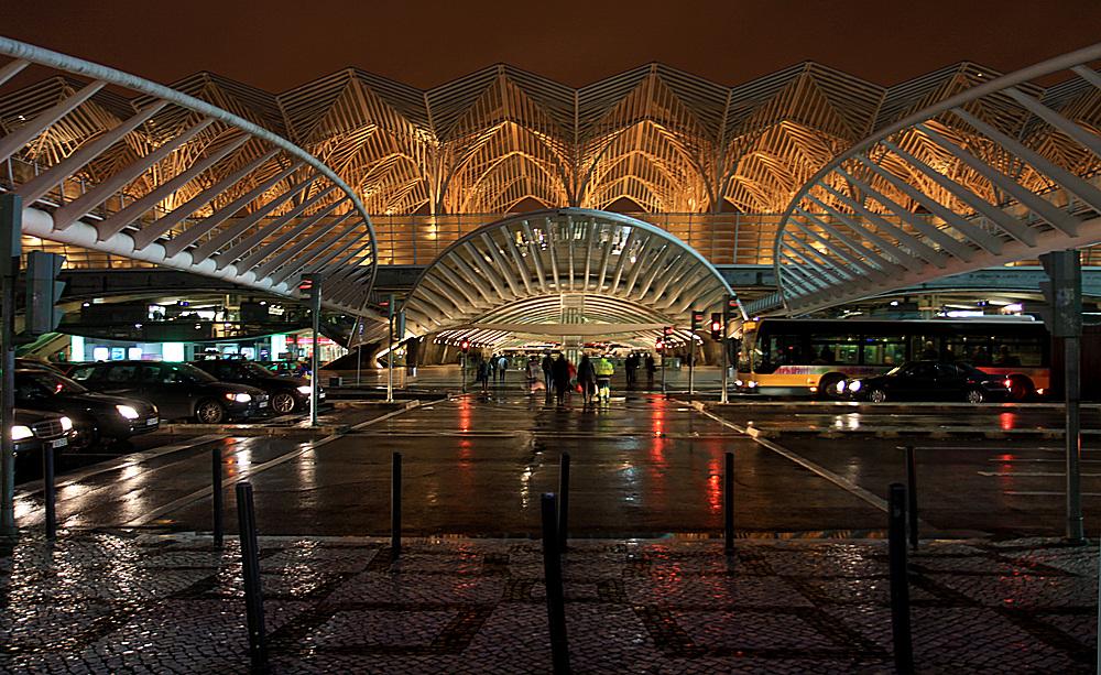 Bahnhof Gare do Oriente (Ostbahnhof) Lissabon (1)