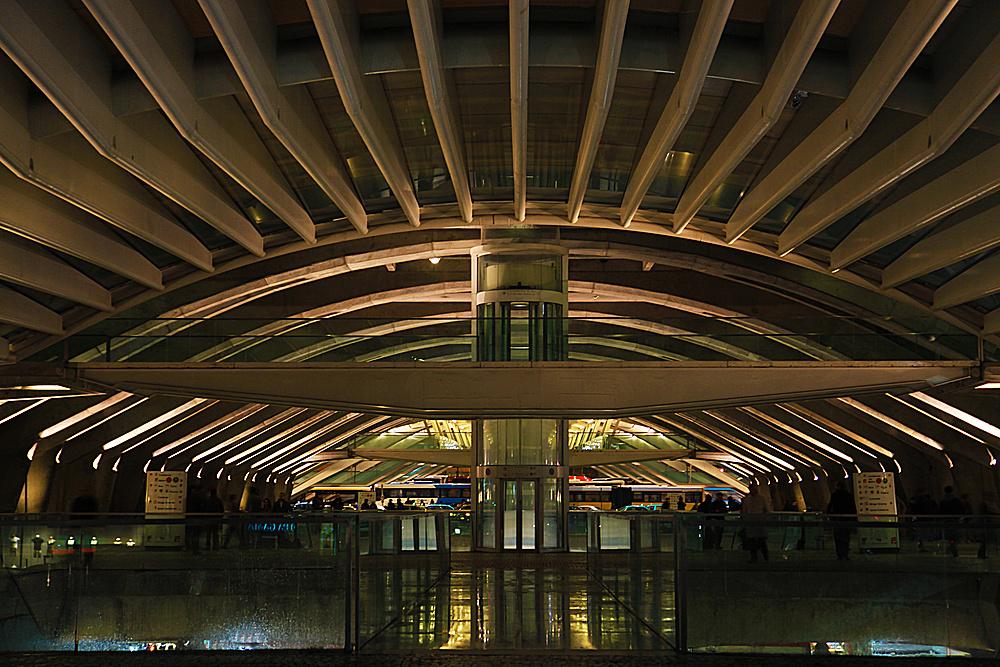 Bahnhof Gare do Oriente (Ostbahnhof) Lissabon (2)