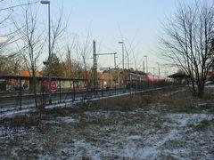 Bahnhof Griebnitzsee von der Universitätsseite gesehen