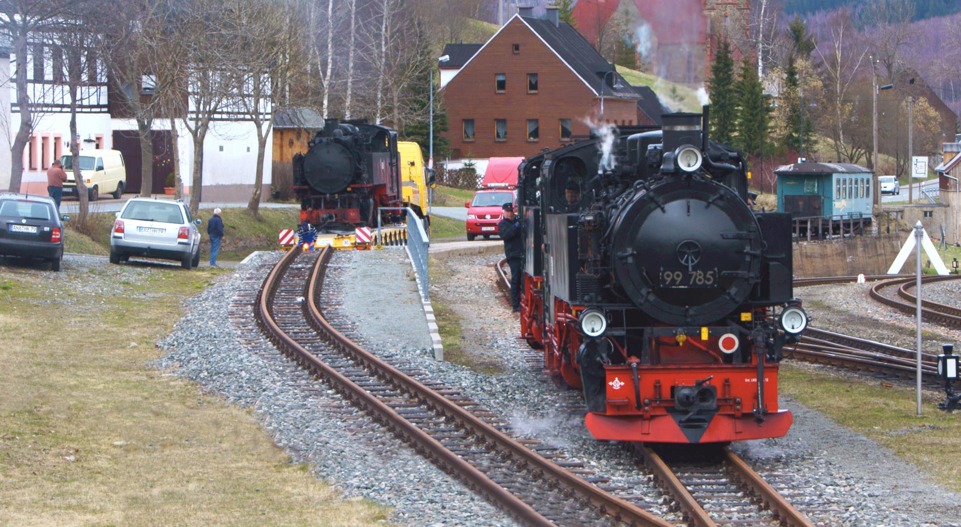 Bahnhof Hammerunterwiesenthal / Fichtelbergbahn