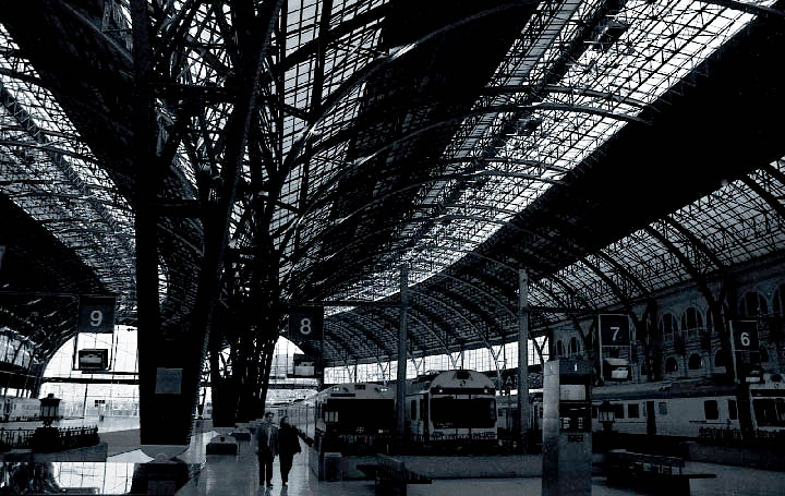 Bahnhof in Barcelona
