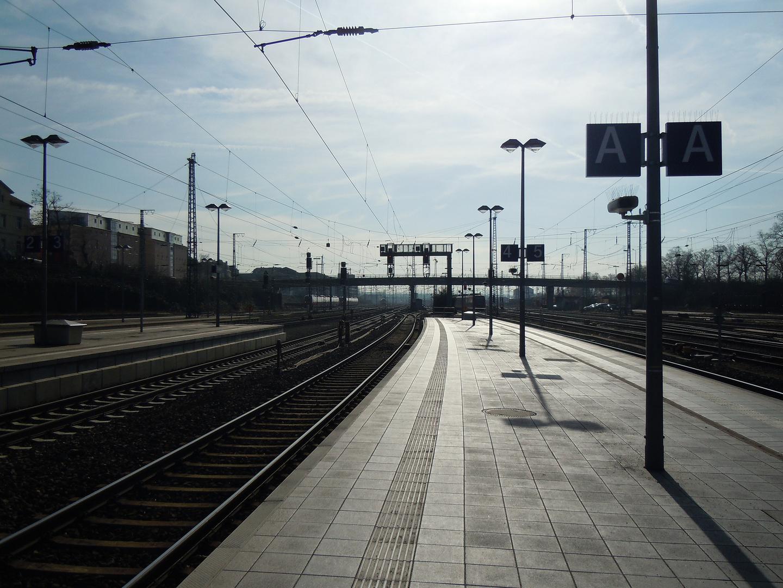 Bahnhof in Giessen