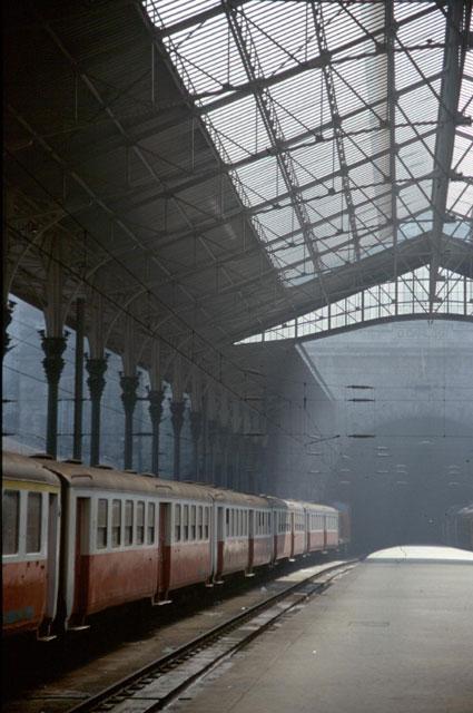 Bahnhof in Lisboa