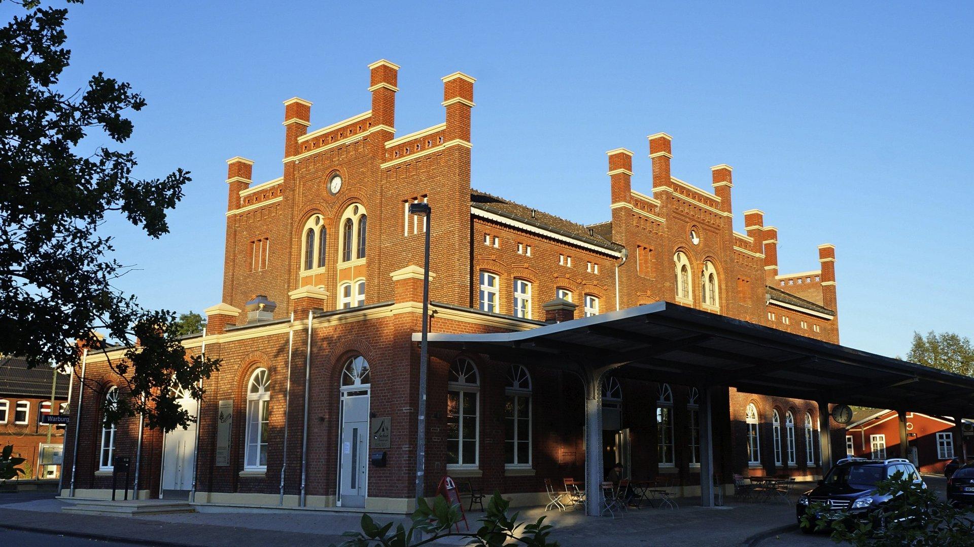 Bahnhof in Warburg 2