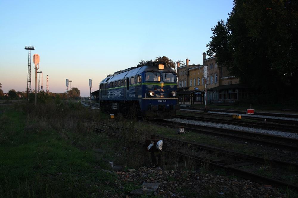 Bahnhof Jauer