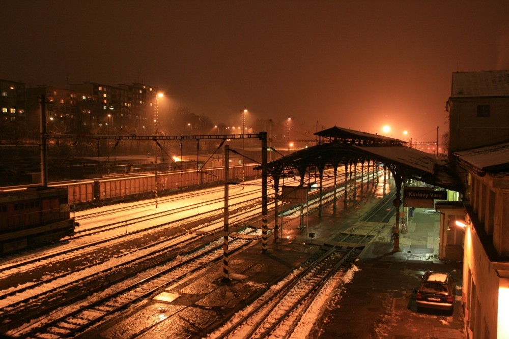 Bahnhof Karlovy Vary, Tschechien