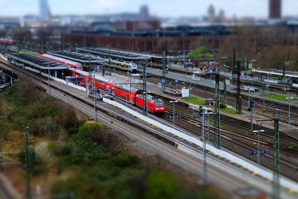 Bahnhof Köln Deutz an der Messe
