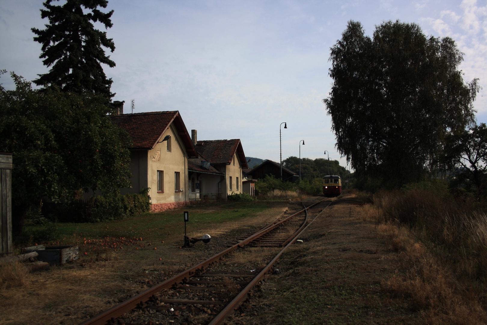 Bahnhof Liebshausen .