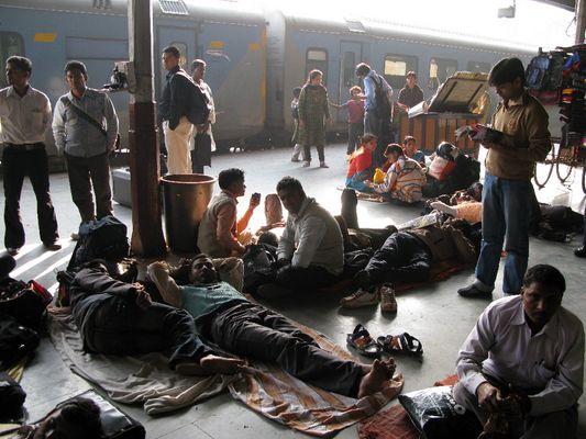 Bahnhof Lucknow
