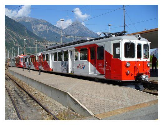 Bahnhof Martigny