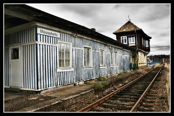Bahnhof Meuselwitz