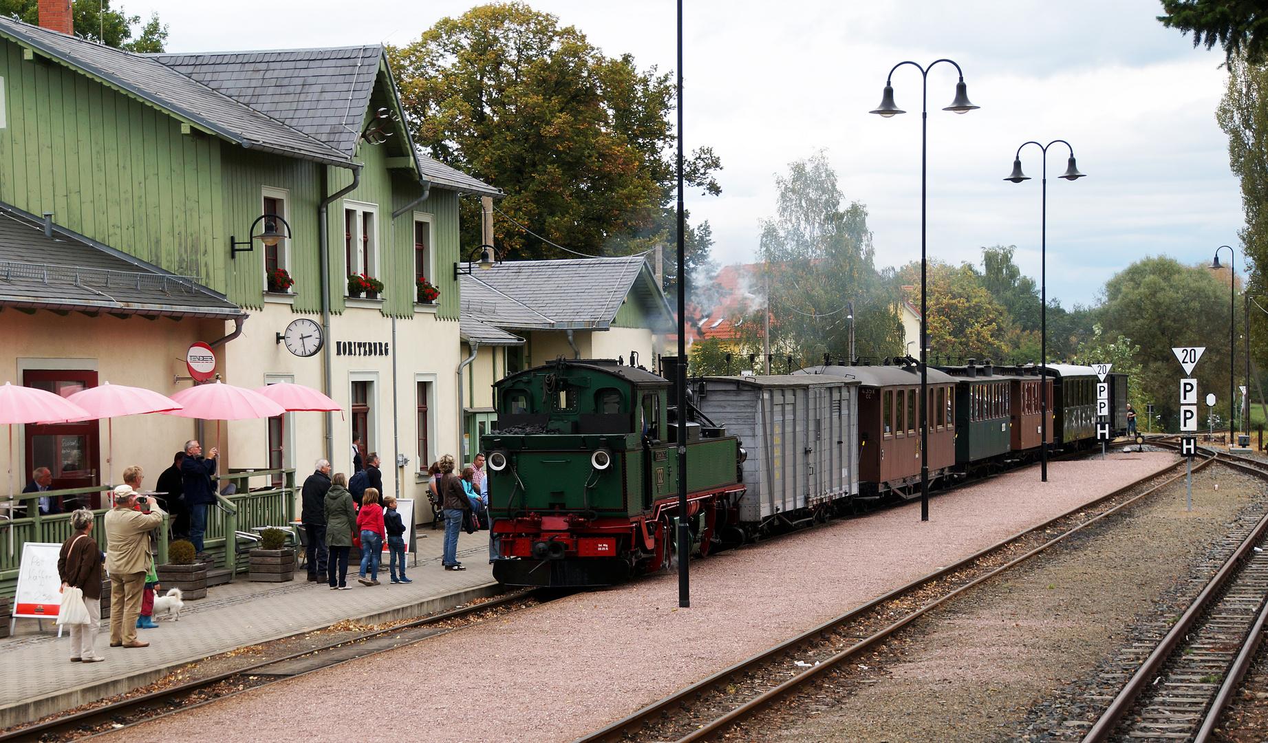 Bahnhof Moritzburg / Sachsen