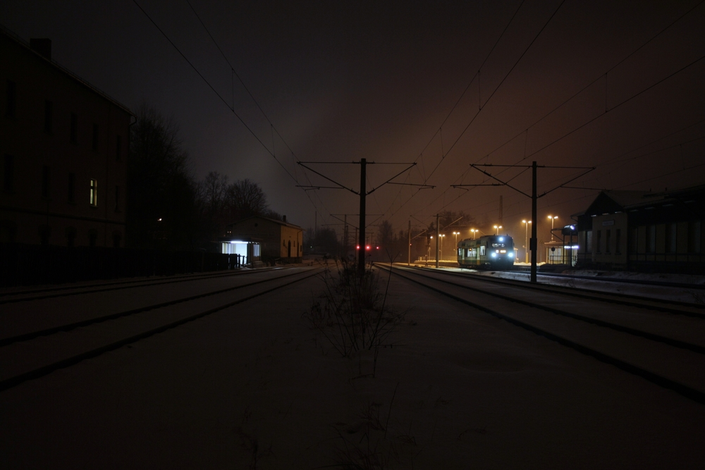 Bahnhof Neumark